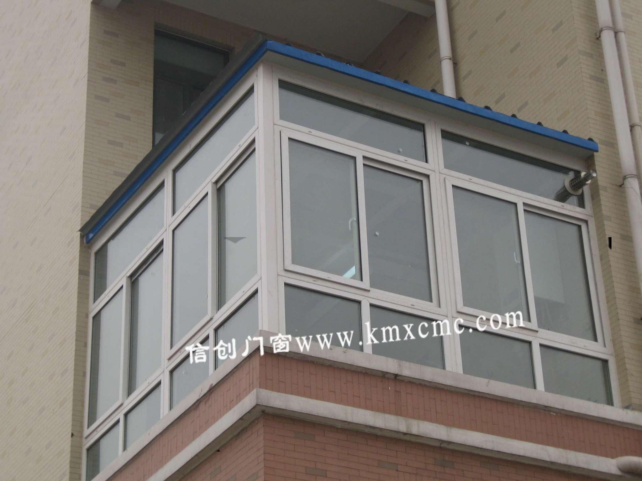 昆明塑钢门窗封阳台